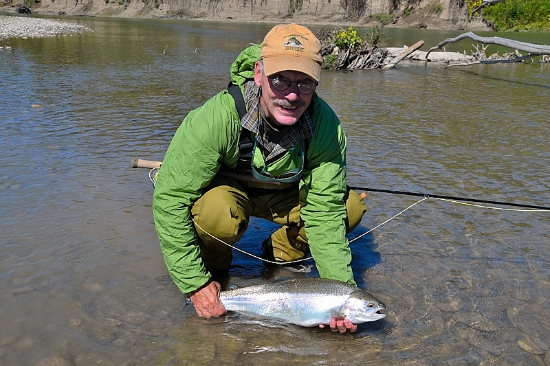 Cattaraugus creek outfitters guided steelhead trips rates for Deerfield river fly fishing